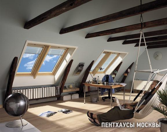 Мансарды в старых домах и мансарды в новостройках | Пентхаусы Москвы