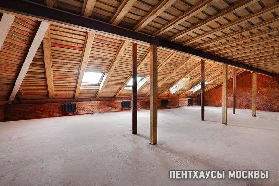 Мансарды в новостройках «Кадашевские палаты»