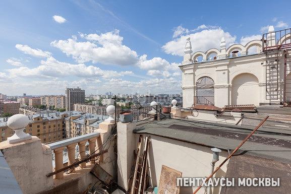 Дом на крыше сталинской высотки — Проспект Мира, 120
