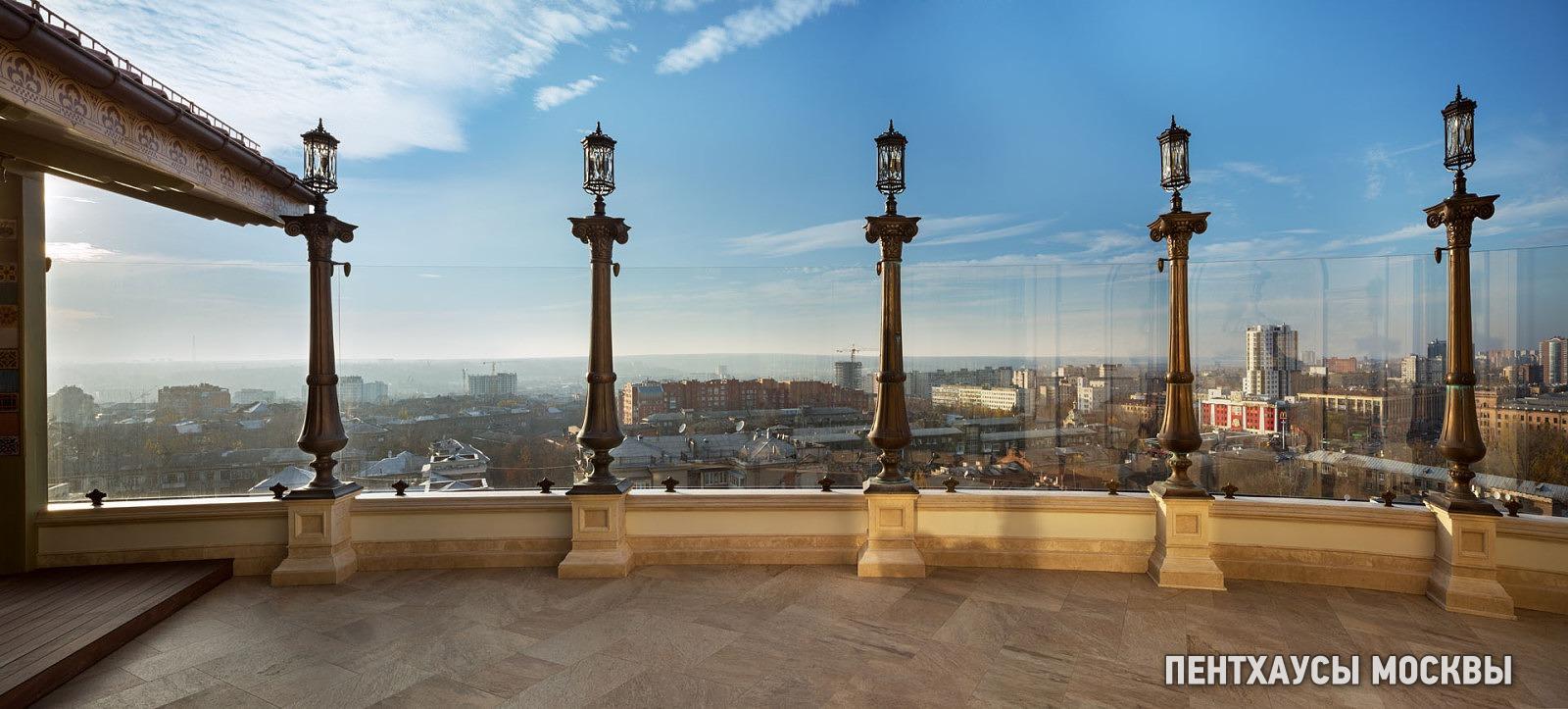 пентхаус с просторной террасой в Харькове