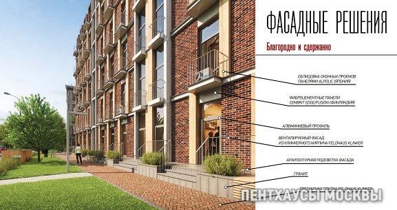 ЖК «Берзарина, 12», фасадные решения
