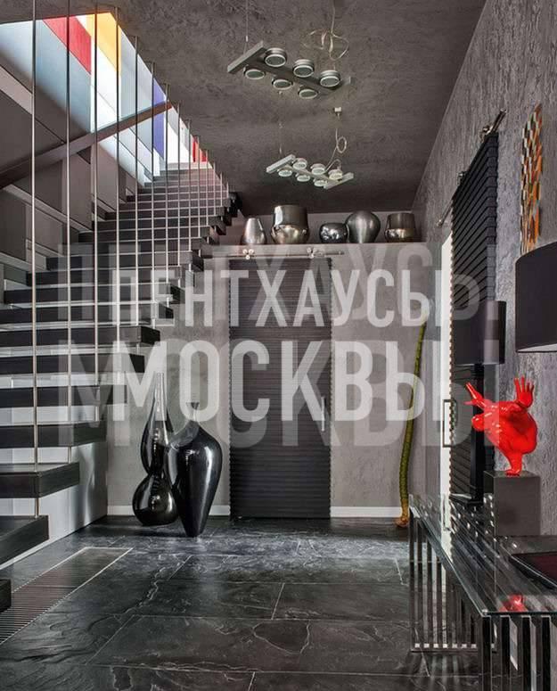 История одного пентхауса в ЖК Триумф-палас, дизайн-проект Марии Ватолиной