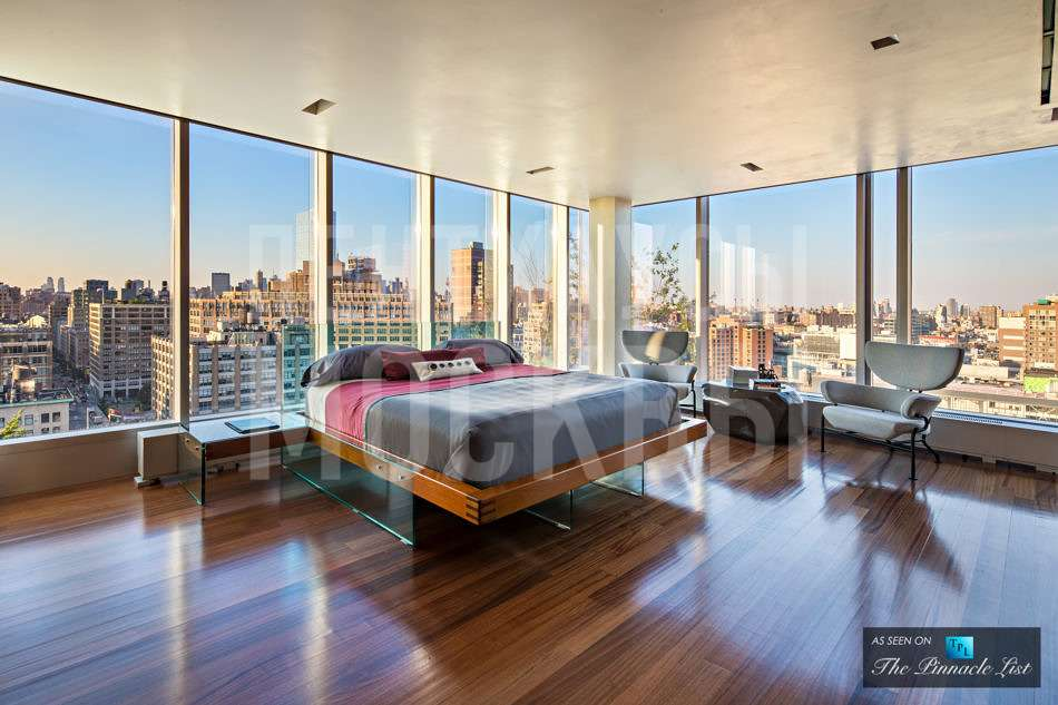 Пентхаус на вершине башни Sky Lofts в Нью-Йорке