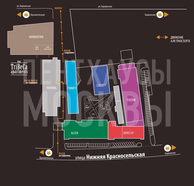 ЖК «TriBeCa Apartments» — Нижняя Красносельская улица, 35