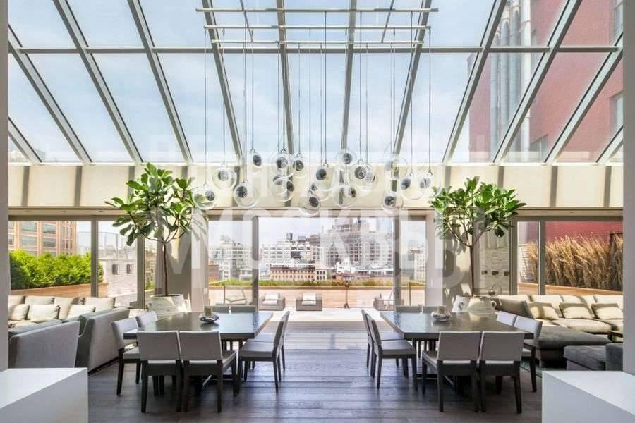 Пентхаус с японским садом в Трайбеке: 30 млн $ — и ты в раю