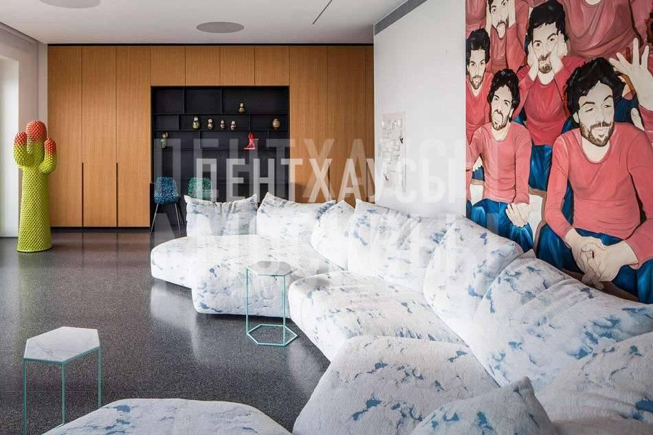Пентхаус как галерея современного искусства (ФОТО)